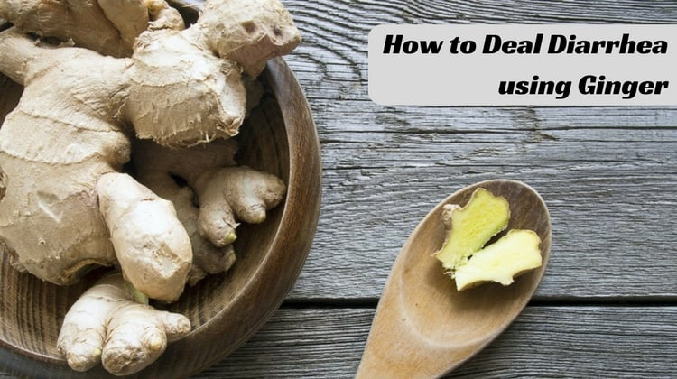 How to Deal Diarrhea using Ginger