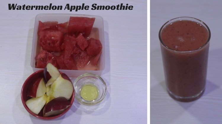 Watermelon Apple Smoothie