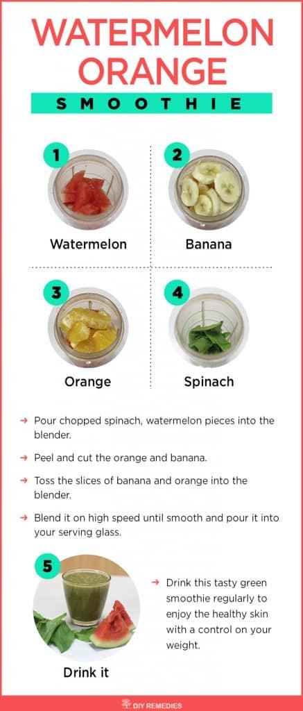 Watermelon Orange Smoothie