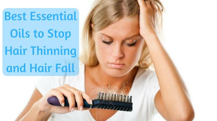 How to Stop Hair from Thinning using Essential Oils