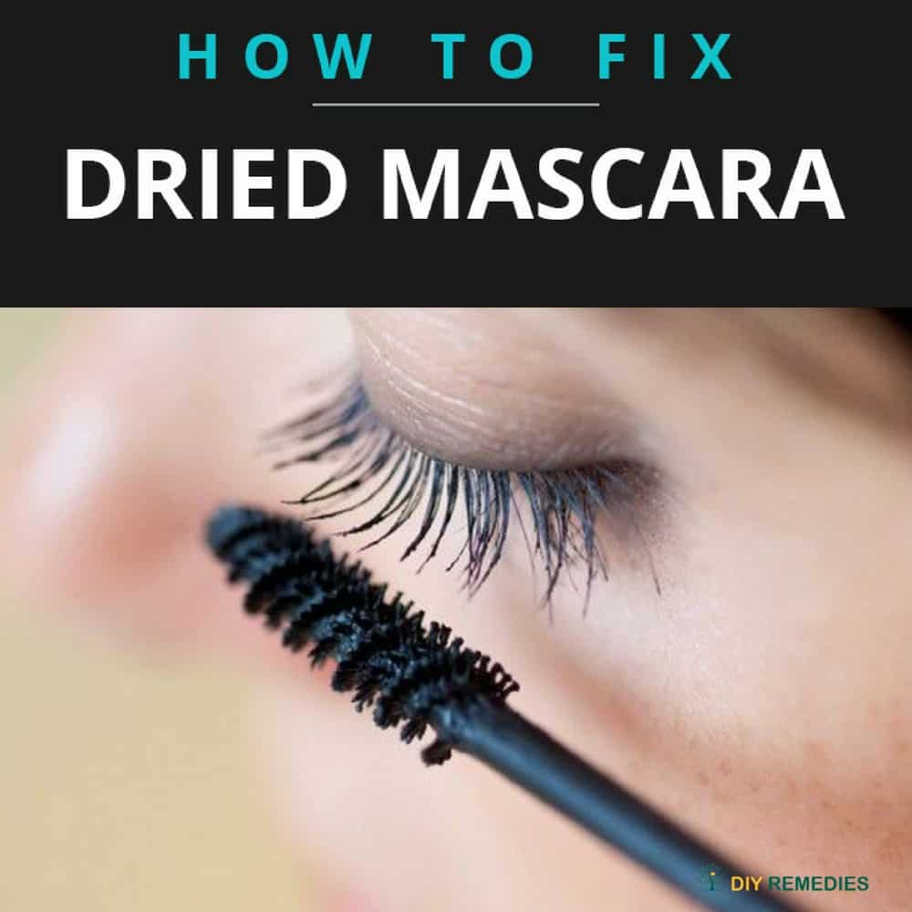 How to Fix Dried Mascara