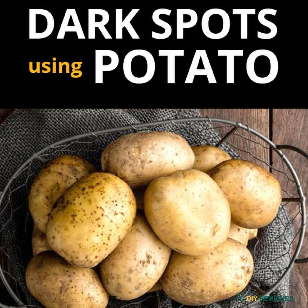 Get Rid of Dark Spots using Potato