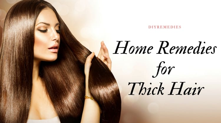 Natural Products At Home To Thicken Hair