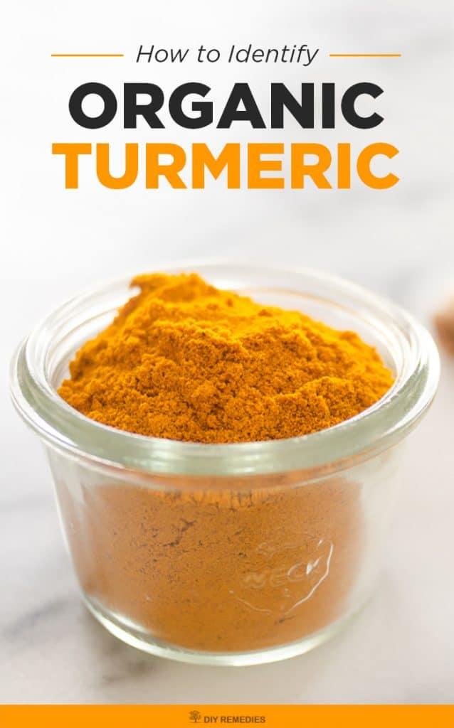 How to Identify Organic Turmeric