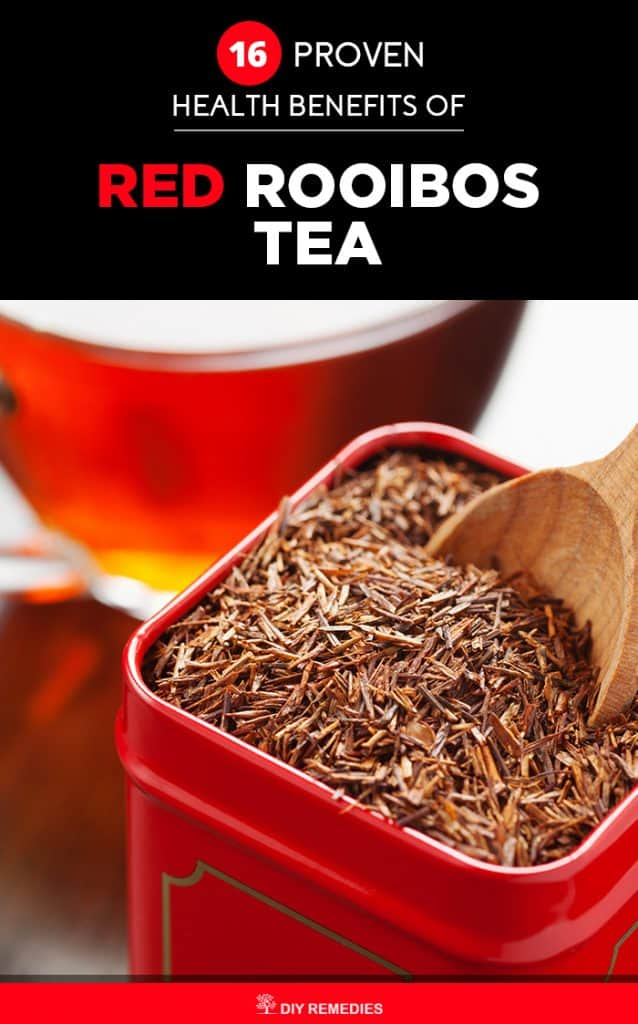 Proven Health Benefits of Red Rooibos Tea