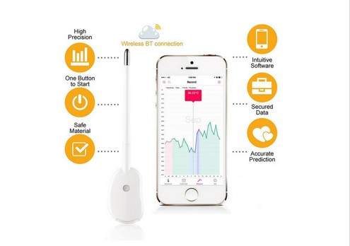 Basal Body Temperature Thermometer (BBT) Accurate Ovulation Prediction