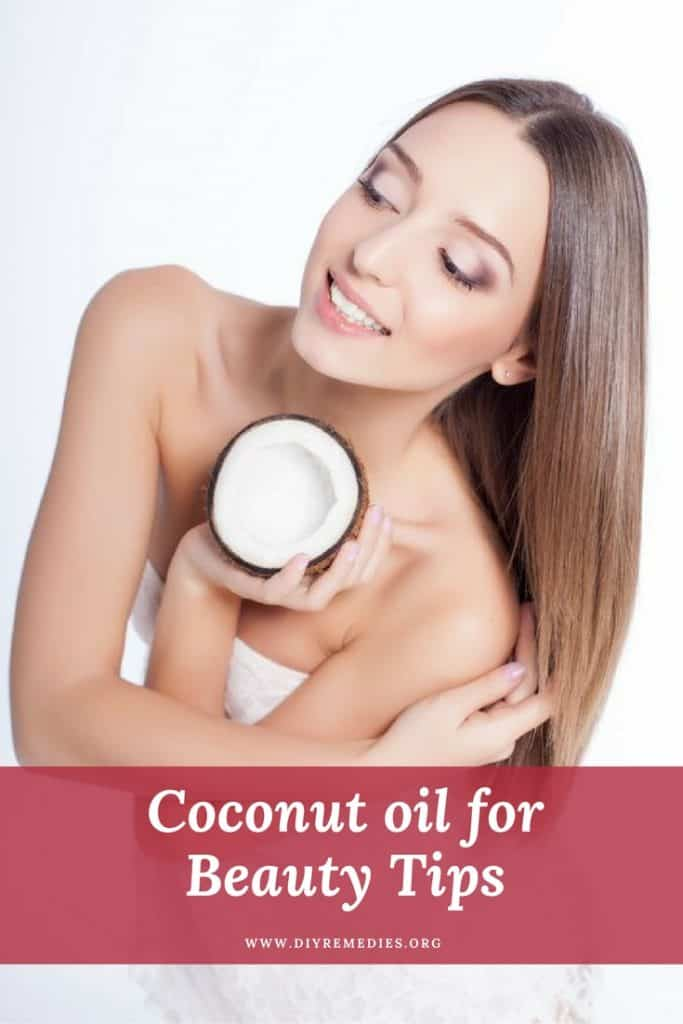 Coconut oil for Beauty Tips