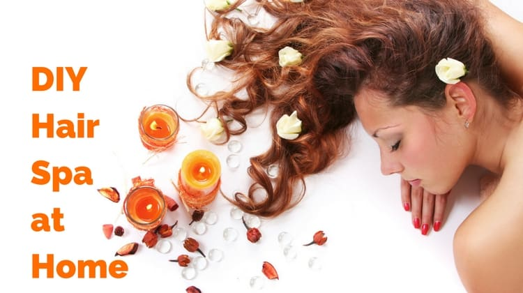 DIY Hair Spa at Home