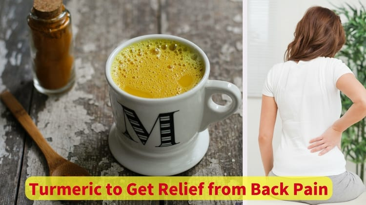 Turmeric to Get Relief from Back Pain