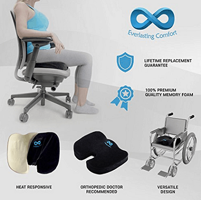 Top 10 Best Coccyx Seat Cushions & Pillows For Tailbone Pain