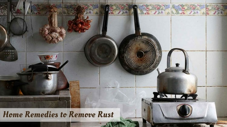 Home Remedies to Remove Rust